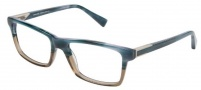 Modo 6003 Eyeglasses Eyeglasses - Blue Horn / Taupe Crystal 