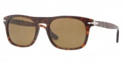 Persol PO3018S Sunglasses  Sunglasses - 24/33 Havana Crystal / Brown