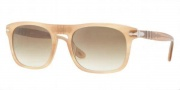 Persol PO3018S Sunglasses  Sunglasses - 480/51 Honey Crystal / Brown Gradient