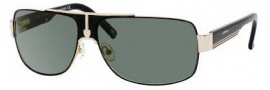 Carrera X-cede 7000/S Sunglasses Sunglasses - DG4P Gold Black / RZ Green Polarized Lens
