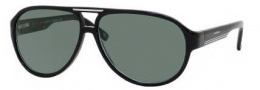 Carrera X-cede 7001/S Sunglasses Sunglasses - 807P Black / RZ Green Polarized Lens