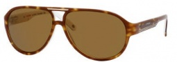 Carrera X-cede 7001/S Sunglasses Sunglasses - F80P Havana White / RS Brown Polarized Lens