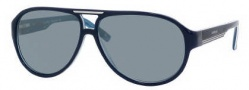 Carrera X-cede 7001/S Sunglasses Sunglasses - YCEP Royal Blue / RT Gray Flash Polarized Lens
