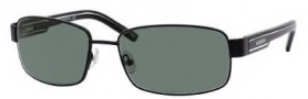 Carrera X-cede 7003/S Sunglasses Sunglasses - 1P3P Semi Matte Antique Black-Silver / RZ green Polarized Lens