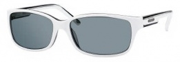 Carrera X-cede 7006/S Sunglasses Sunglasses - 1R5P White Black / RT Gray Flash Polarized Lens