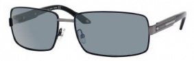 Carrera X-cede 7008/S Sunglasses Sunglasses - BGLP Matte Black / RT Gray Flash Polarized Lens