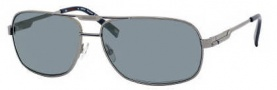 Carrera X-cede 7009/S Sunglasses Sunglasses - 1D3P Ruthenium / RT Gray Flash Polarized Lens