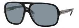 Carrera X-Cede 7011/S Sunglasses Sunglasses - 807P Black / RT Gray Flash Polarized Lens