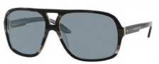 Carrera X-Cede 7011/S Sunglasses Sunglasses - CK2P Black Ice Striped / RT Gray flash Polarized Lens