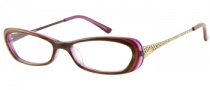 Guess GU 2271 Eyeglasses Eyeglasses - BRN: Snake Skin Brown