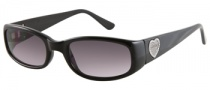 Guess GU 7125 Sunglasses Sunglasses - BLK-3: Solid Black