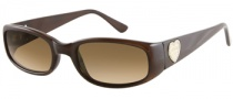 Guess GU 7125 Sunglasses Sunglasses - BRN-1: Brown Milky