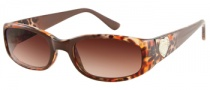 Guess GU 7125 Sunglasses Sunglasses - BRNCH-34: Brown