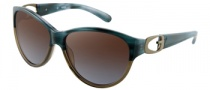 Guess GU 7044 Sunglasses Sunglasses - TLBR-73: Teal Horn