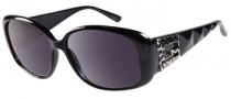 Guess GU 7141 Sunglasses Sunglasses - BLK-35: Black