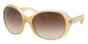 Prada PR 04OS Sunglasses Sunglasses - GAD6S1 Opal Sand / Brown Gradient