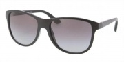 Prada PR 06OS Sunglasses Sunglasses - 1AB3M1 Black / Gray Gradient