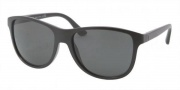Prada PR 06OS Sunglasses Sunglasses - 1BO1A1 Matte Black / Gray