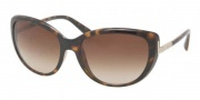 Prada PR 07OS Sunglasses Sunglasses - 2AU6S1 Havana / Brown Gradient