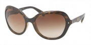 Prada PR 09OS Sunglasses Sunglasses - 2AU6S1 Havana / Brown Gradient