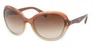 Prada PR 09OS Sunglasses Sunglasses - HA51Z1 Brown Gradient / Pearl Brown Gradient