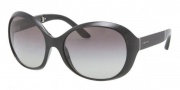 Prada PR 12OS Sunglasses Sunglasses - 1AB3M1 Black / Gray Gradient 