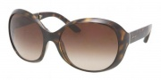 Prada PR 12OS Sunglasses Sunglasses - 2AU6S1 Havana / Brown Gradient