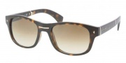 Prada PR 14OS Sunglasses Sunglasses - 2AU0B3 Havana Crystal / Brown Gradient