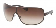 Prada PR 54OS Sunglasses Sunglasses - ACD6S1 Brown Demi Shiny / Brown Gradient
