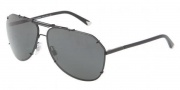 Dolce & Gabbana DG2102 Sunglasses Sunglasses - 01/87 Black / Gray
