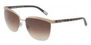 Dolce & Gabbana DG2104 Sunglasses Sunglasses - 111113 Brown / Brown Gradient