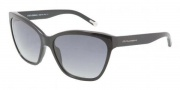 Dolce & Gabbana DG4114 Sunglasses Sunglasses - 501/8G Black / Gray Gradient