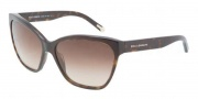 Dolce & Gabbana DG4114 Sunglasses Sunglasses - 502/13 Havana / Brown Gradient