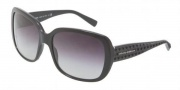 Dolce & Gabbana DG4115 Sunglasses Sunglasses - 501/8G Black / Gray Gradient