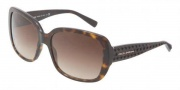Dolce & Gabbana DG4115 Sunglasses Sunglasses - 502/13 Havana / Brown Gradient