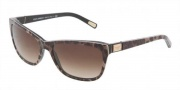 Dolce & Gabbana DG4123 Sunglasses Sunglasses - 199513 Leopard / Brown Gradient