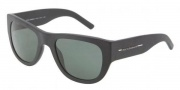 Dolce & Gabbana DG4127 Sunglasses Sunglasses - 193471 Matte Black / Green 
