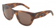Dolce & Gabbana DG4127 Sunglasses Sunglasses - 251873 Matte Brown / Brown