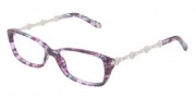 Tiffany & Co. TF2050B Eyeglasses Eyeglasses - 8132 Plum Havana