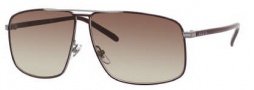 Gucci 2214/K/S Sunglasses Sunglasses - 09R0 Dark Brown (JD Brown Gradient Lens)