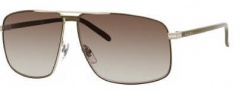 Gucci 2214/K/S Sunglasses Sunglasses - 0ADA Khaki (CC Brown Gradient Lens)