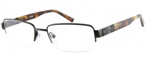 Guess GU 1707 Eyeglasses Eyeglasses - BLK: Satin Black