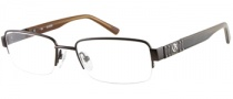 Guess GU 1707 Eyeglasses Eyeglasses - BRN: Satin Brown