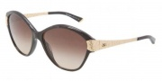 Dolce & Gabbana DG4130 Sunglasses Sunglasses - 196513 Brown Marble / Brown Gradient