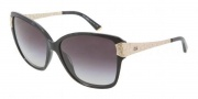 Dolce & Gabbana DG4131 Sunglasses Sunglasses - 19638G Black Marble / Gray Gradient