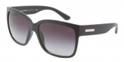 Dolce & Gabbana DG6063 Sunglasses Sunglasses - 501/8G Black / Gray Gradient