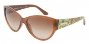 Dolce & Gabbana DG6064 Sunglasses Sunglasses - 250913 Brown Transparent / Brown Gradient