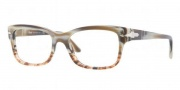 Persol PO3011V Eyeglasses Eyeglasses - 940 Brown Stripped
