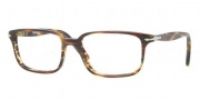 Perosl PO3013V Eyeglasses Eyeglasses - 938 Green Striped Brown