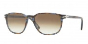 Persol PO3019S Sunglasses Sunglasses - 944/51 Blue Striped Horn Crystal / Brown Gradient